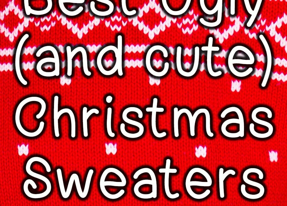 2018 Best Ugly (and cute) Christmas Sweaters