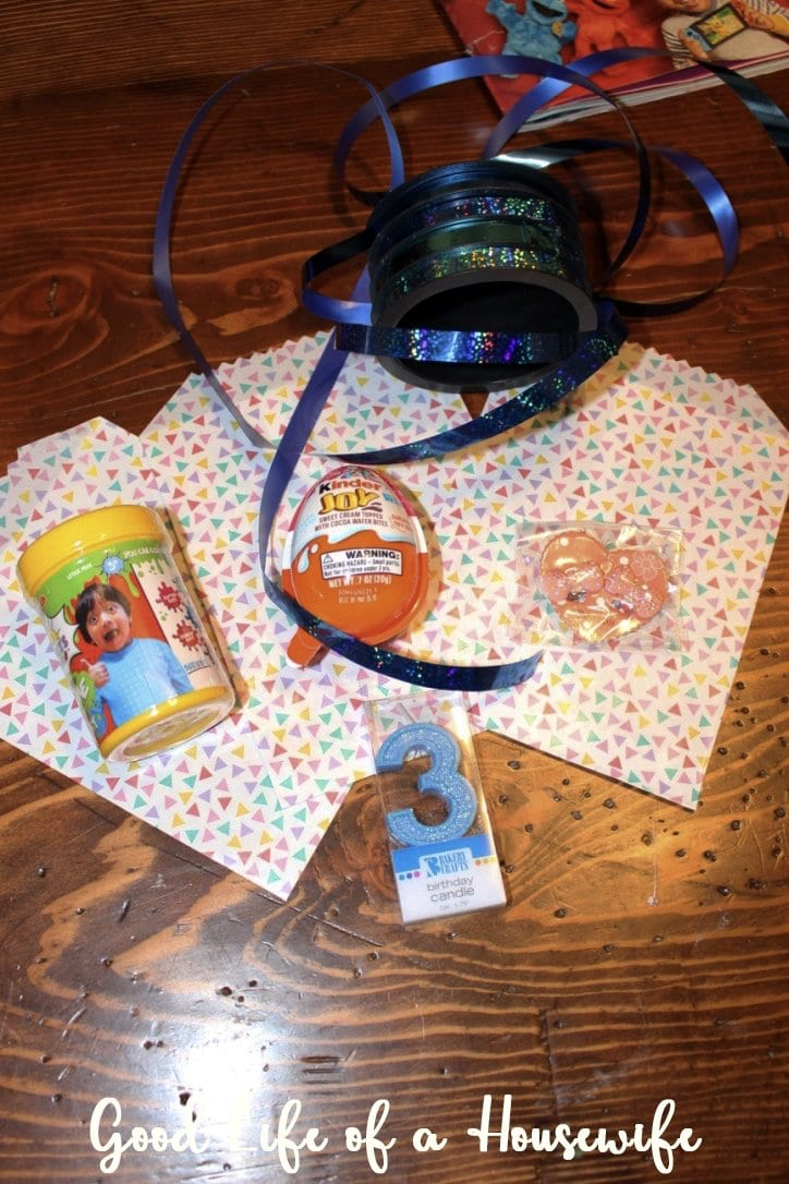 Making a Toddler Birthday Special without a Big Party