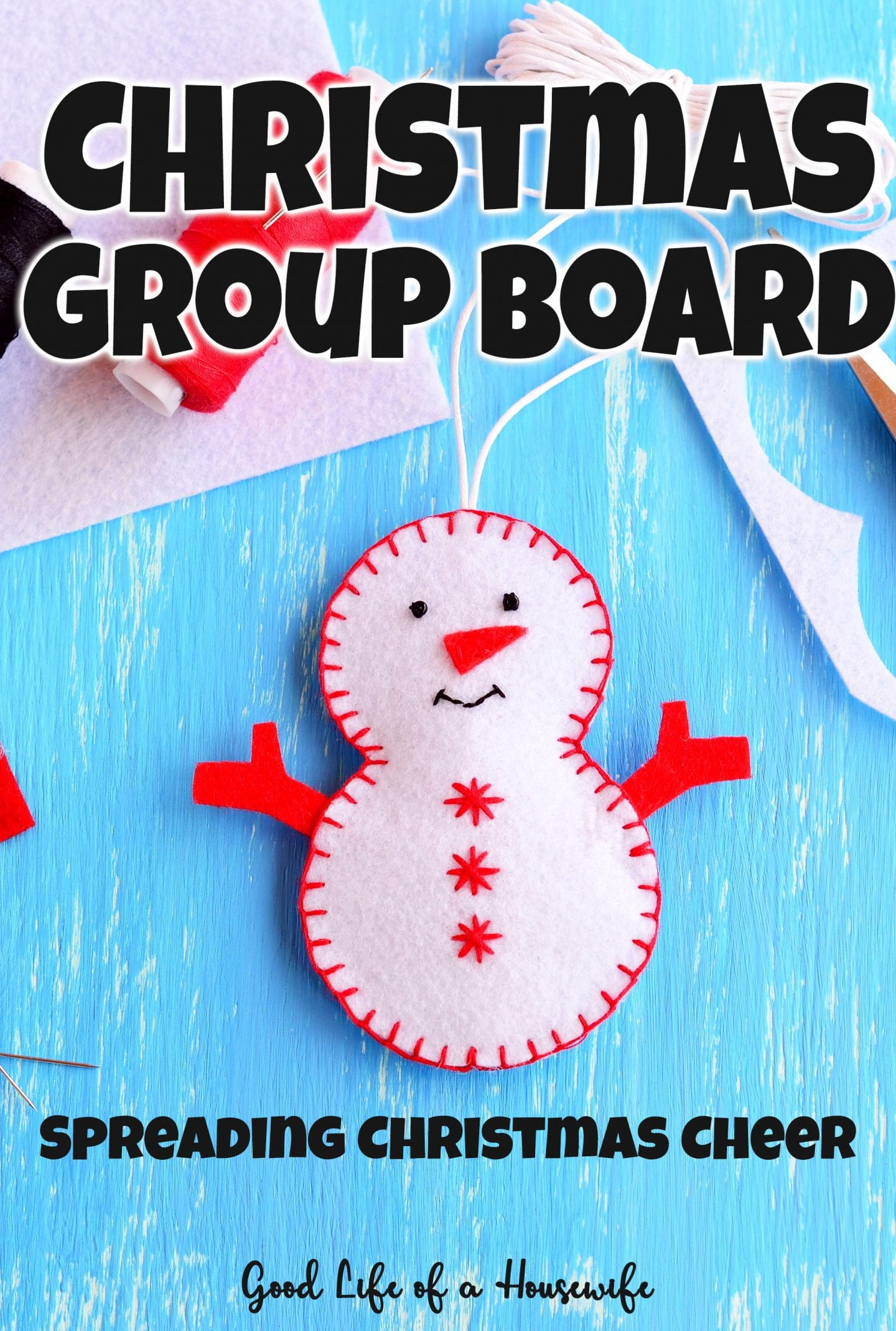 Spreading Christmas Cheer through our Christmas Group Board