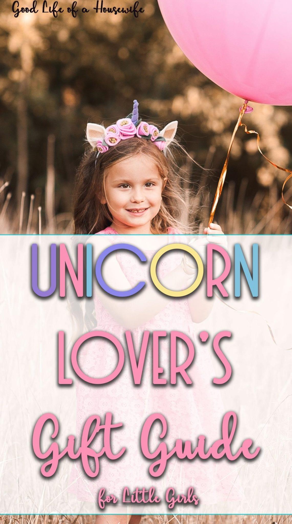 Unicorn Lover's Gift Guide for Little Girls
