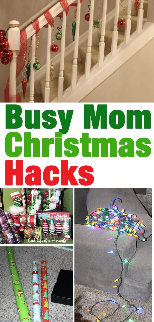 Busy Mom Christmas Hacks by Good Life of a Housewife