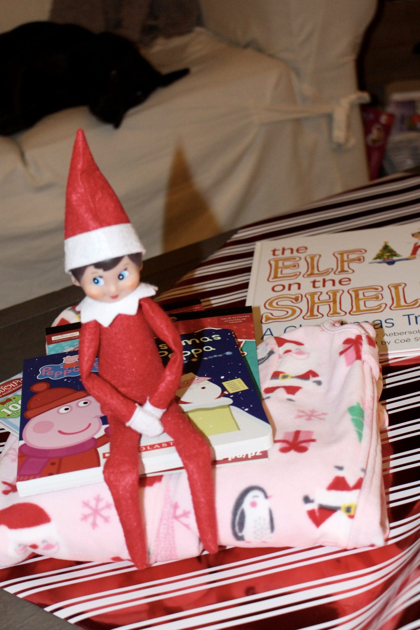 Elf on the Shelf Arrives with pajamas