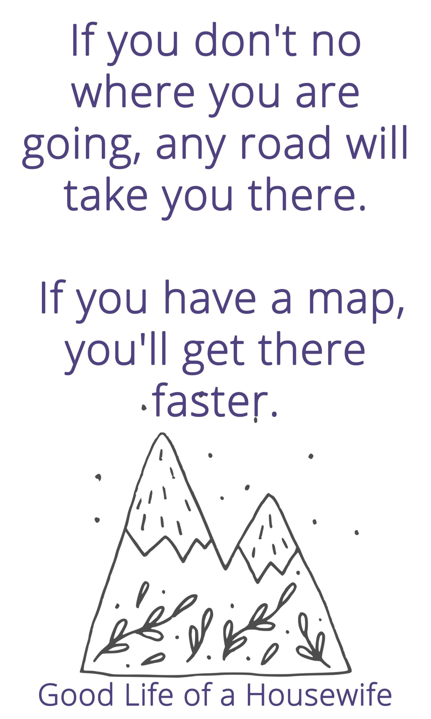 If you don't no where you are going, any road will take you there. If you have a map, you'll get there faster. A budget is a map. Cash is your vehicle, and your dollars are the gas. Don't blow cash on joyrides, when it can be save for road trips.
