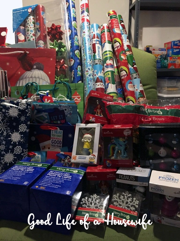 At some big retailers you have like three days to get the good stuff. This year I shopped at Michaels and CVS and scored HUGE Christmas savings 75-90% everything.