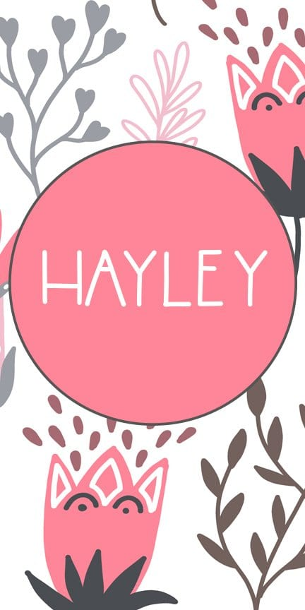 Baby Girl Names That Start With H