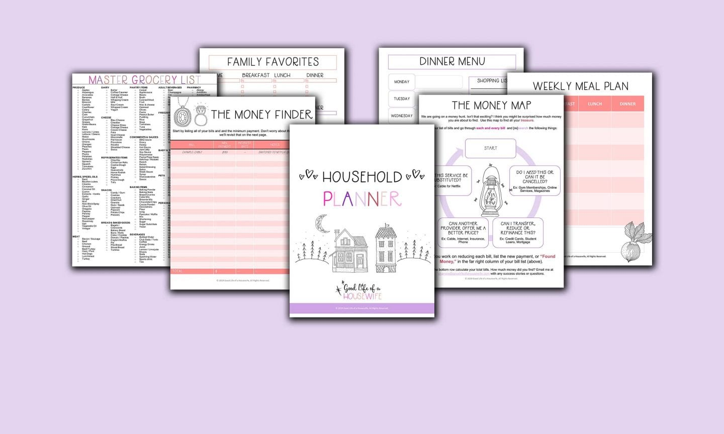 Household Planner and Family Legacy Builder