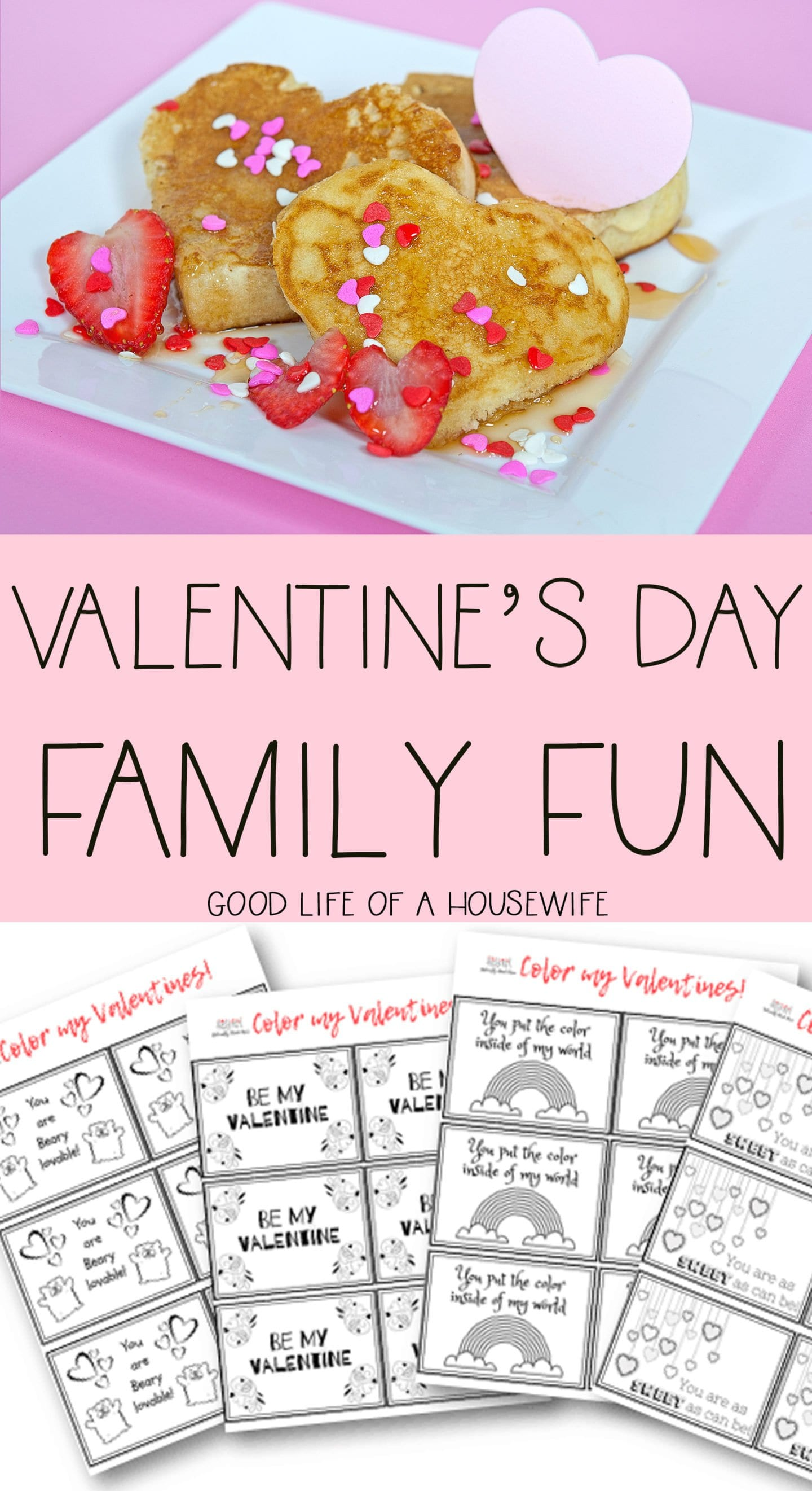 Valentine's Day Family Fun for Kids and the whole family