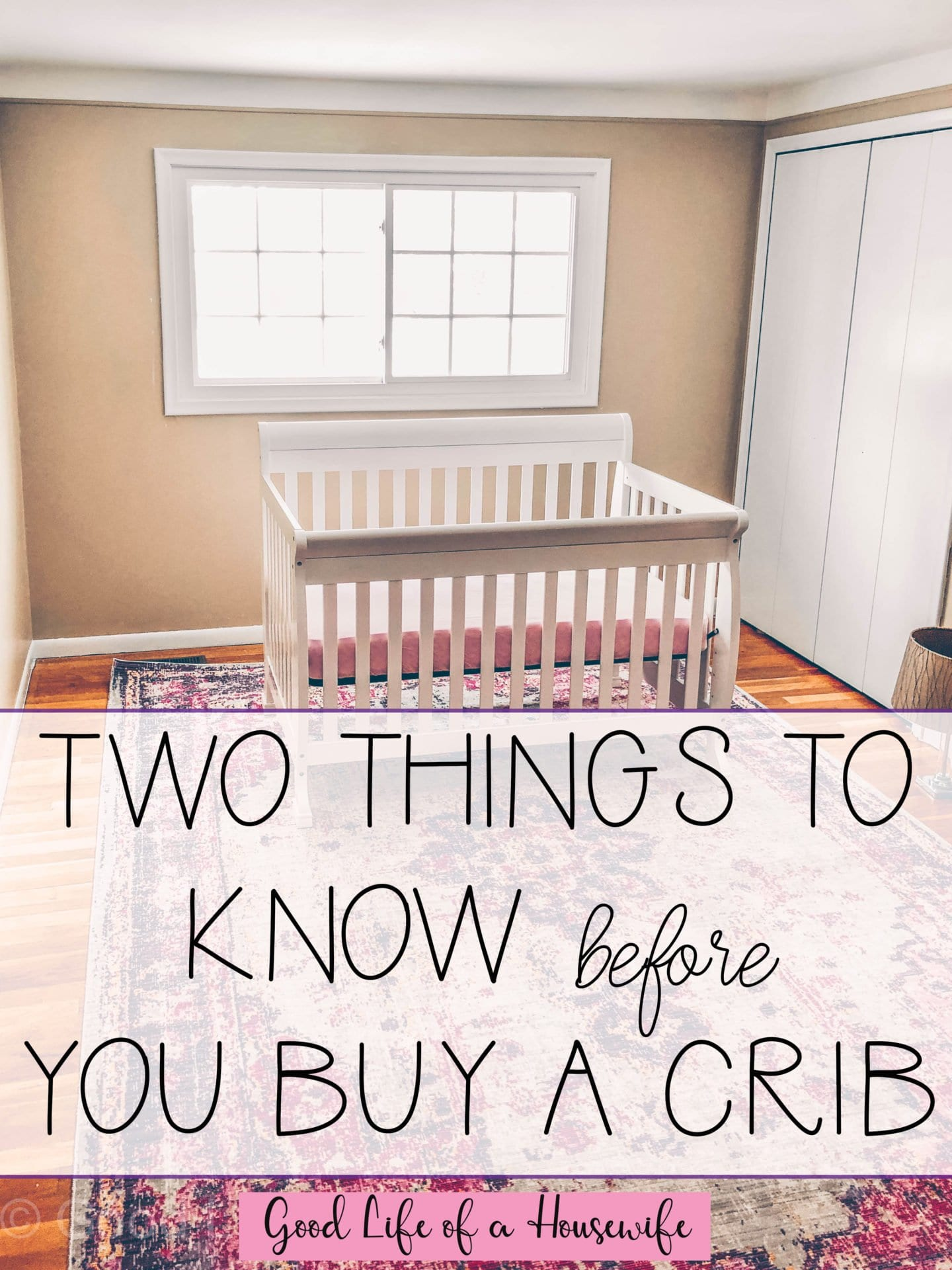 Two Things to Know Before you Buy a Crib