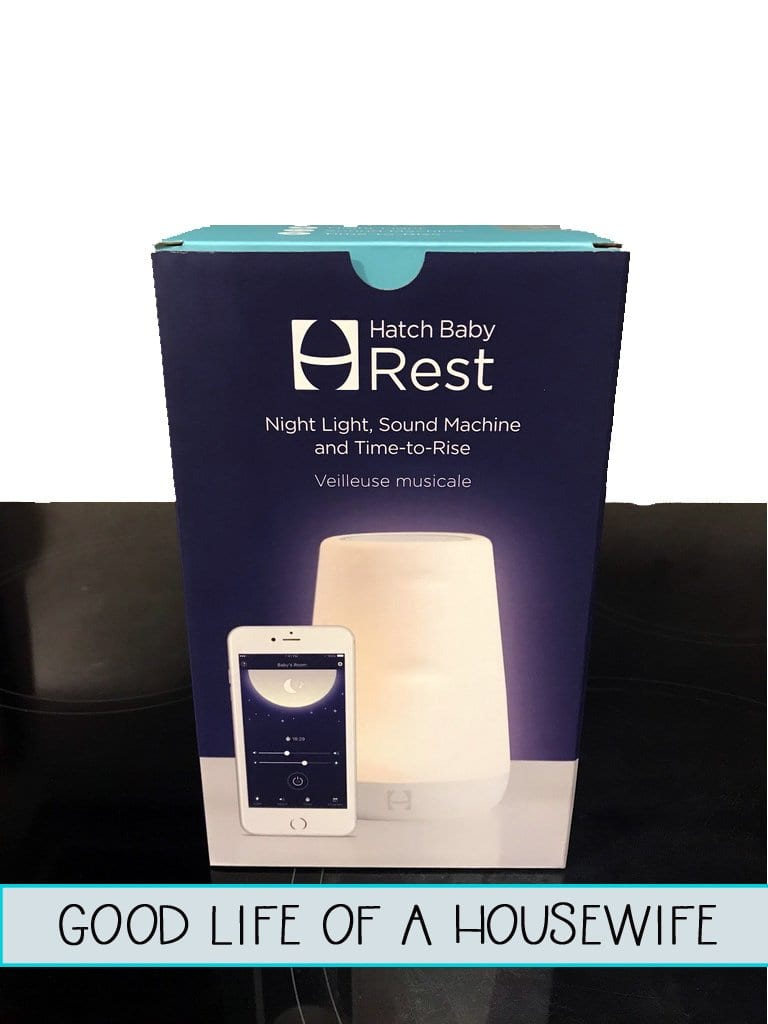 Hatch Baby Rest Sound Machine, Night Light and Time-to-Rise Review