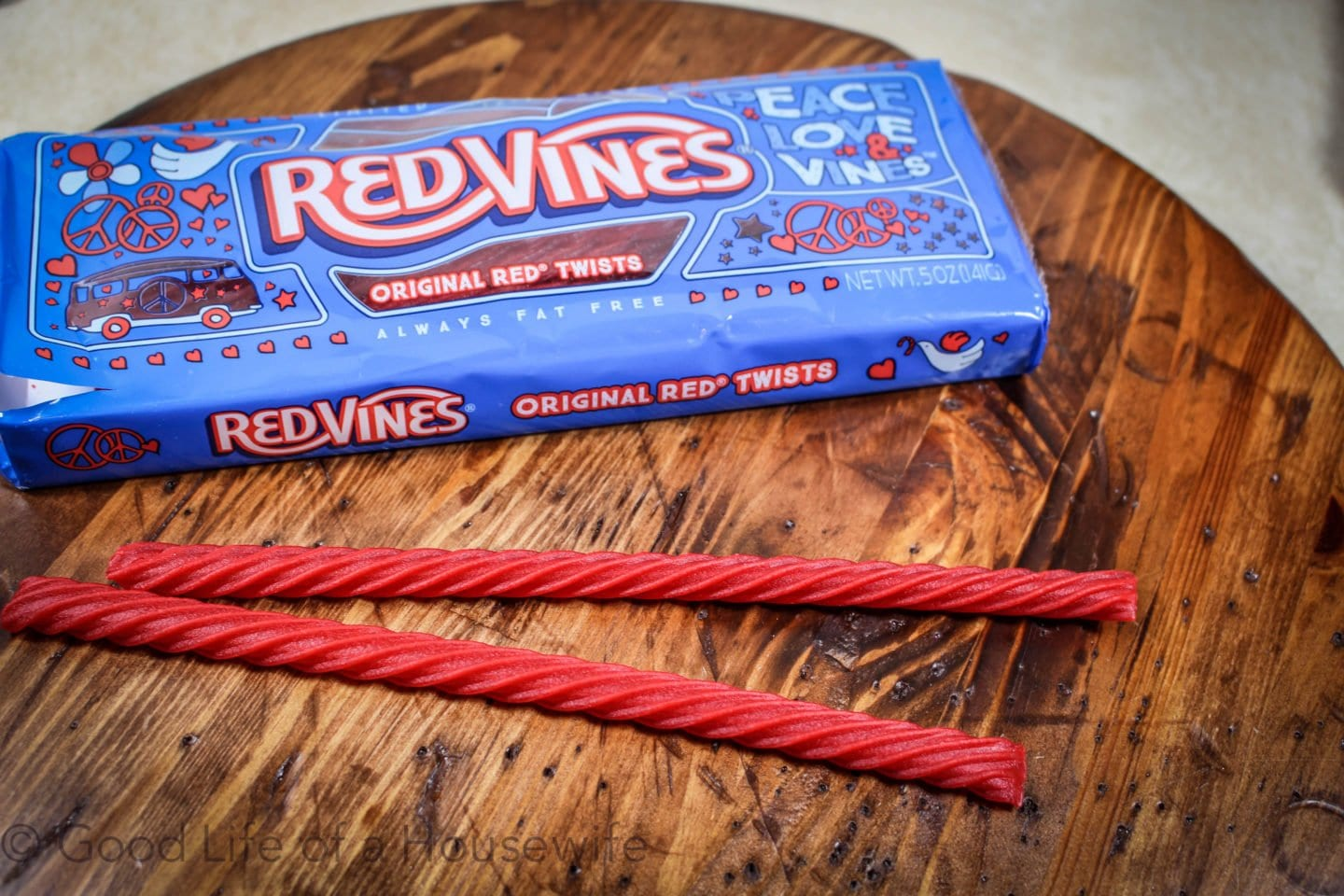 Red Vine Straws for the Fourth of July.