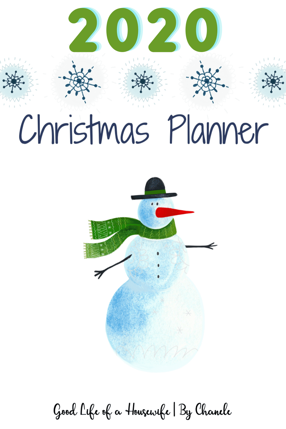 Free Printable Christmas Printables 2020 2020 Christmas planner [free printable] – Good Life of a Housewife