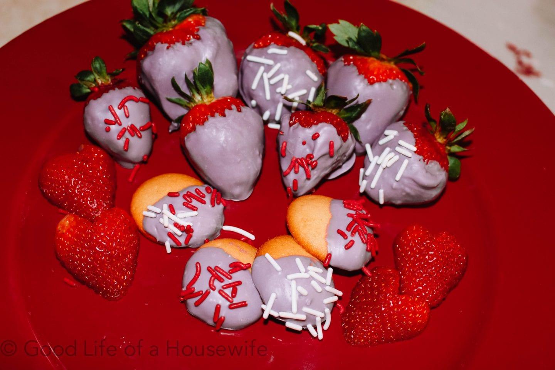 Valentine's Day Dessert Platter
