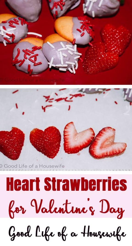 Valentine's Day Heart Strawberries