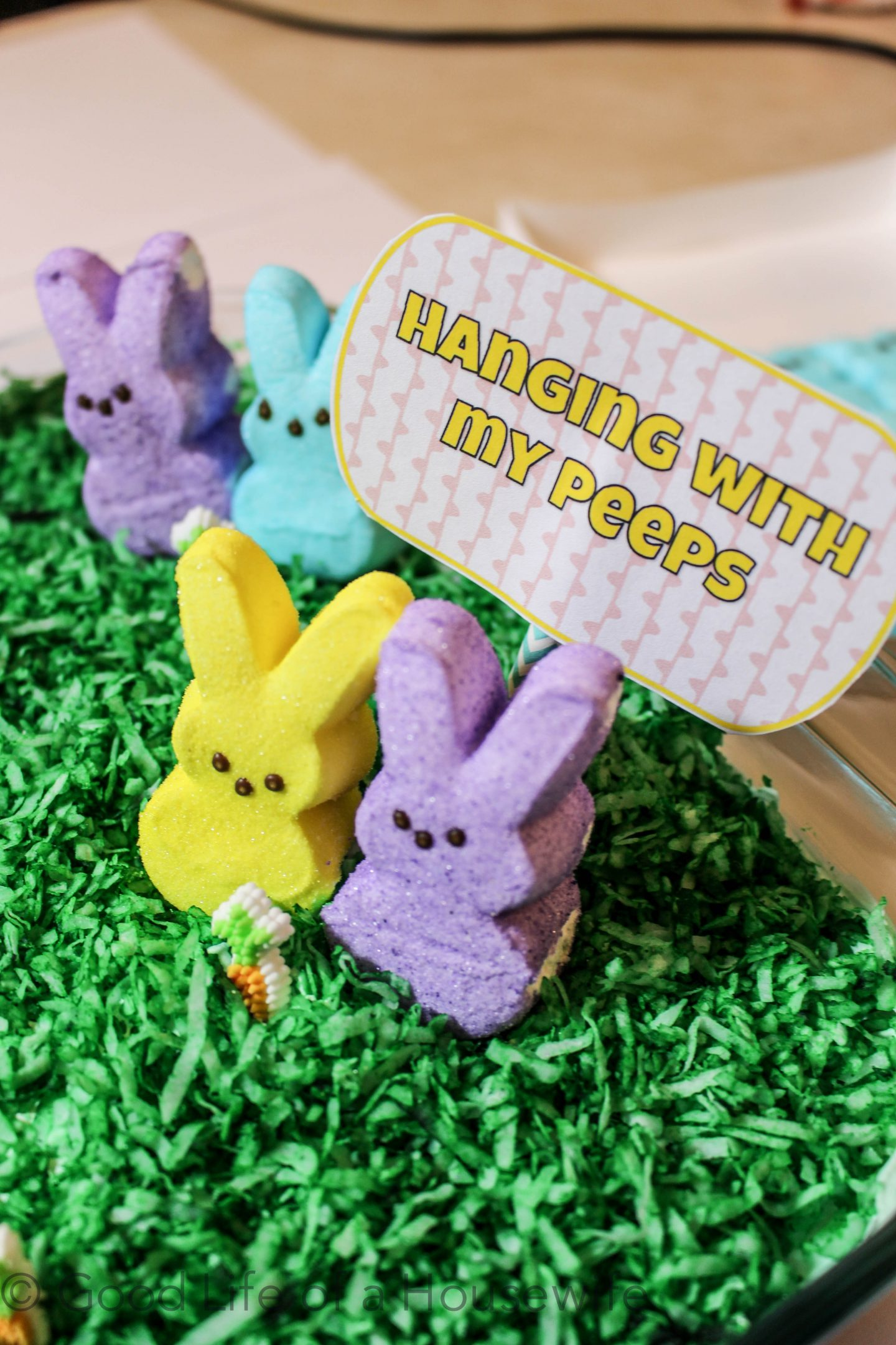 Hanging with My Peeps Cake