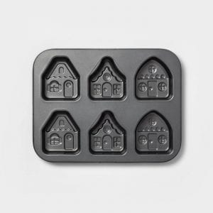 Metal Gingerbread House Cakelet Pan