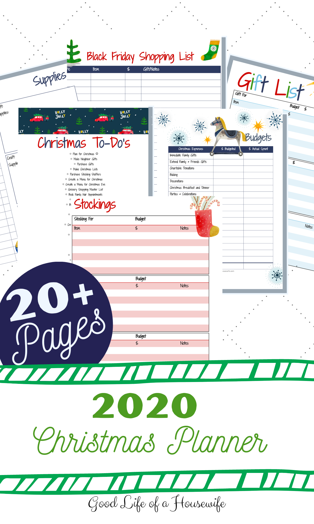 2020 Christmas Planner
