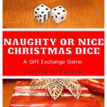Naughty or Nice Christmas Dice