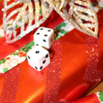 Christmas Gift Exchange Game with Dice