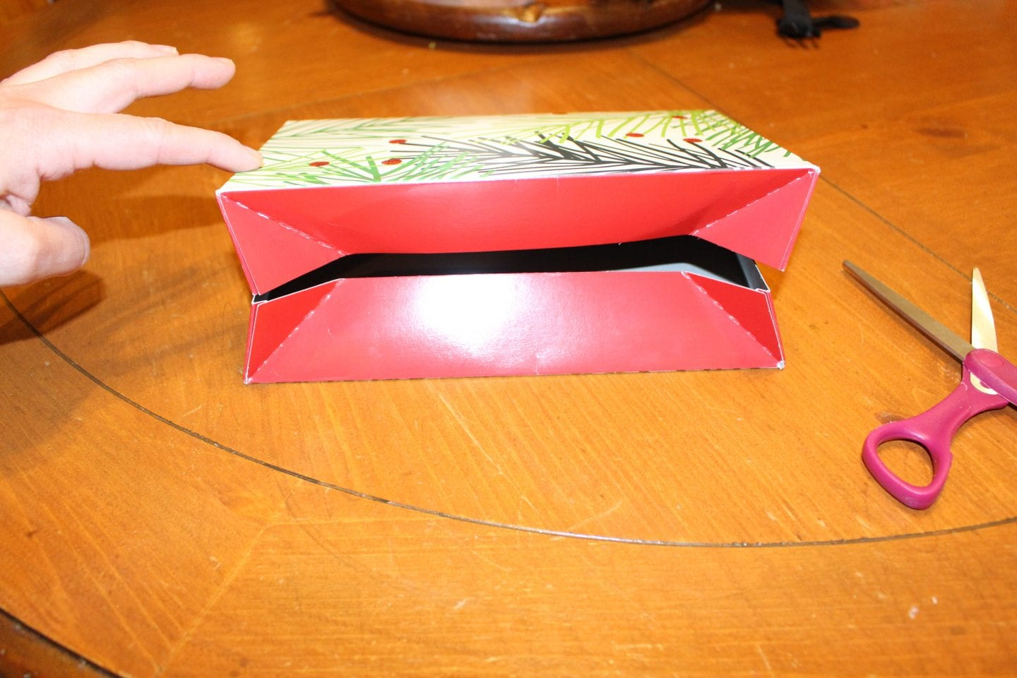DIY Small Christmas Box Tutorial