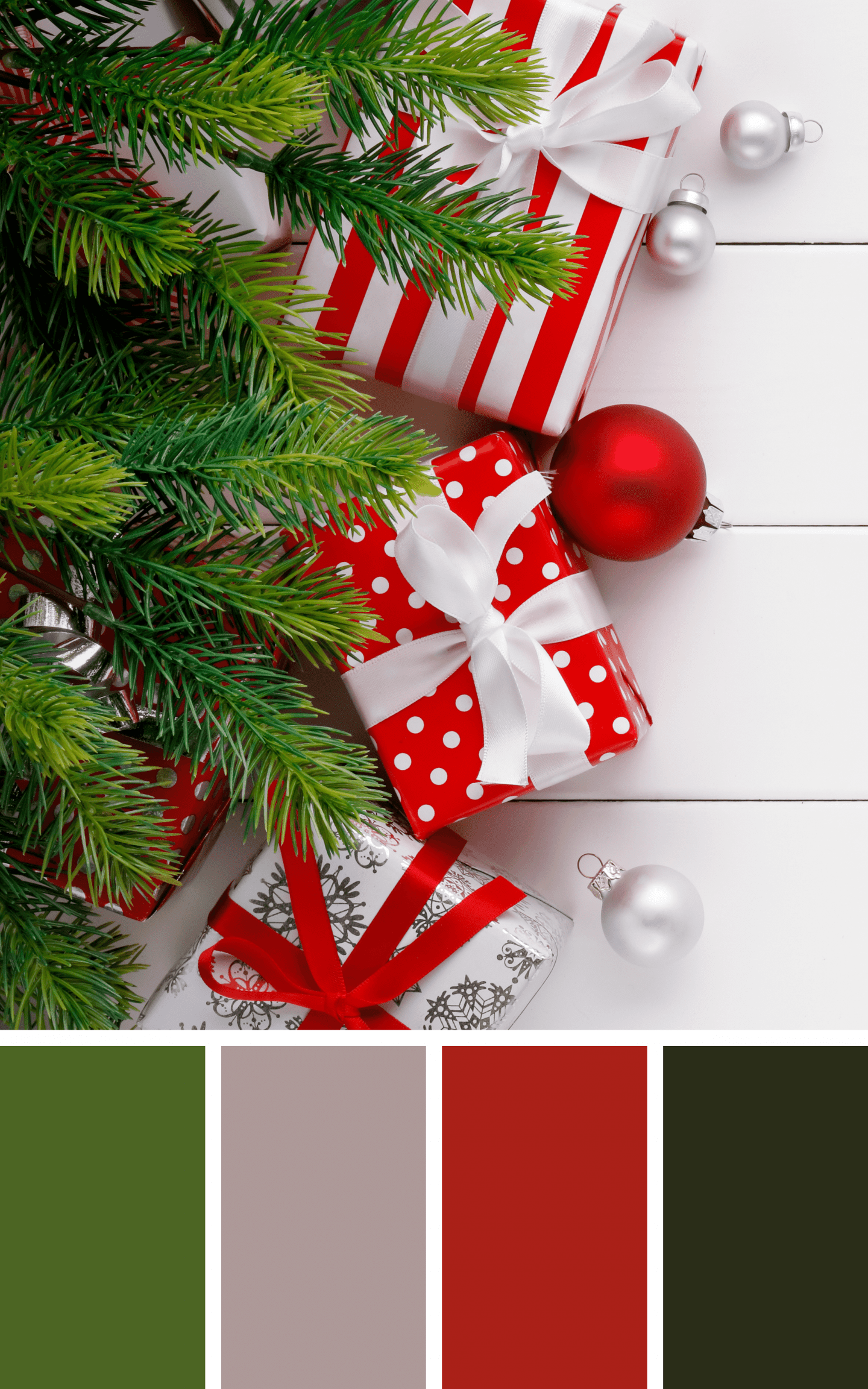 Christmas Aesthetic Classic Colors