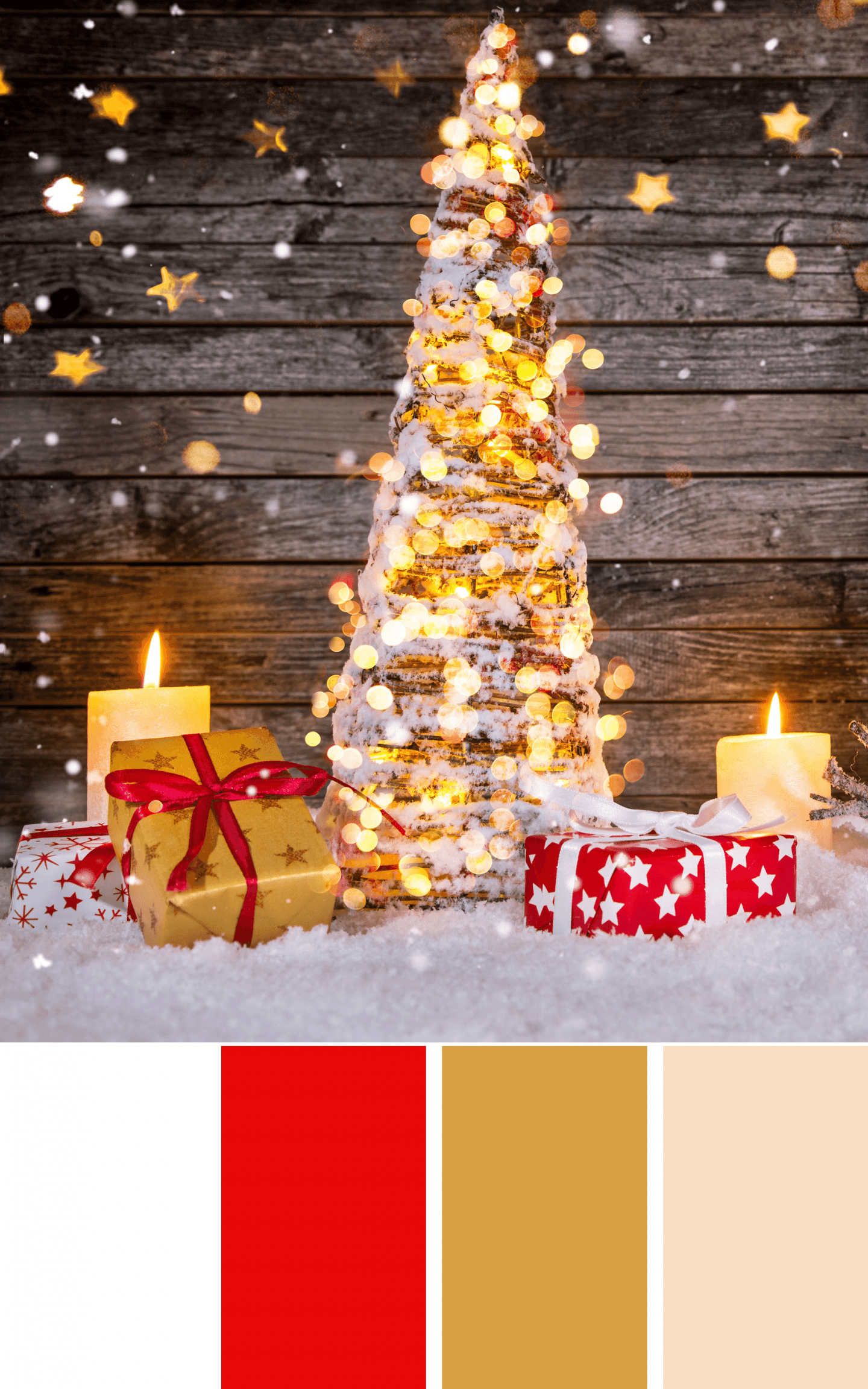 Elegant Red and Gold Christmas Inspiration - Good Life of a Housewife