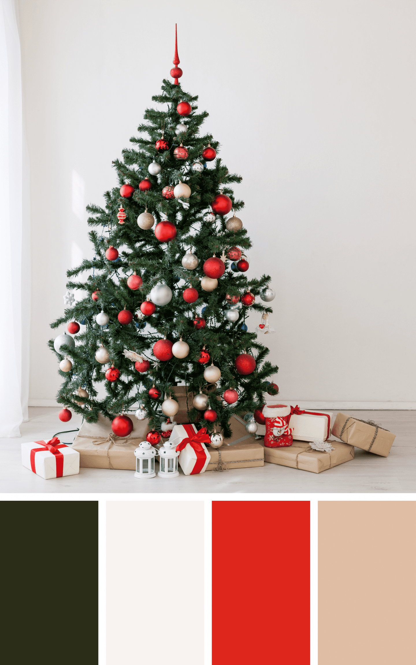 Christmas Tree Inspiration for Farmhouse Christmas