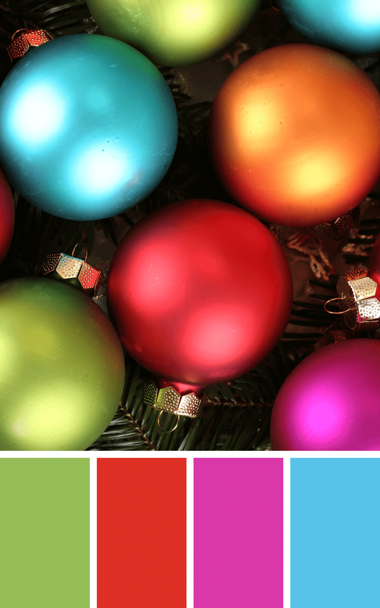 Bright and Bold Christmas Inspiration