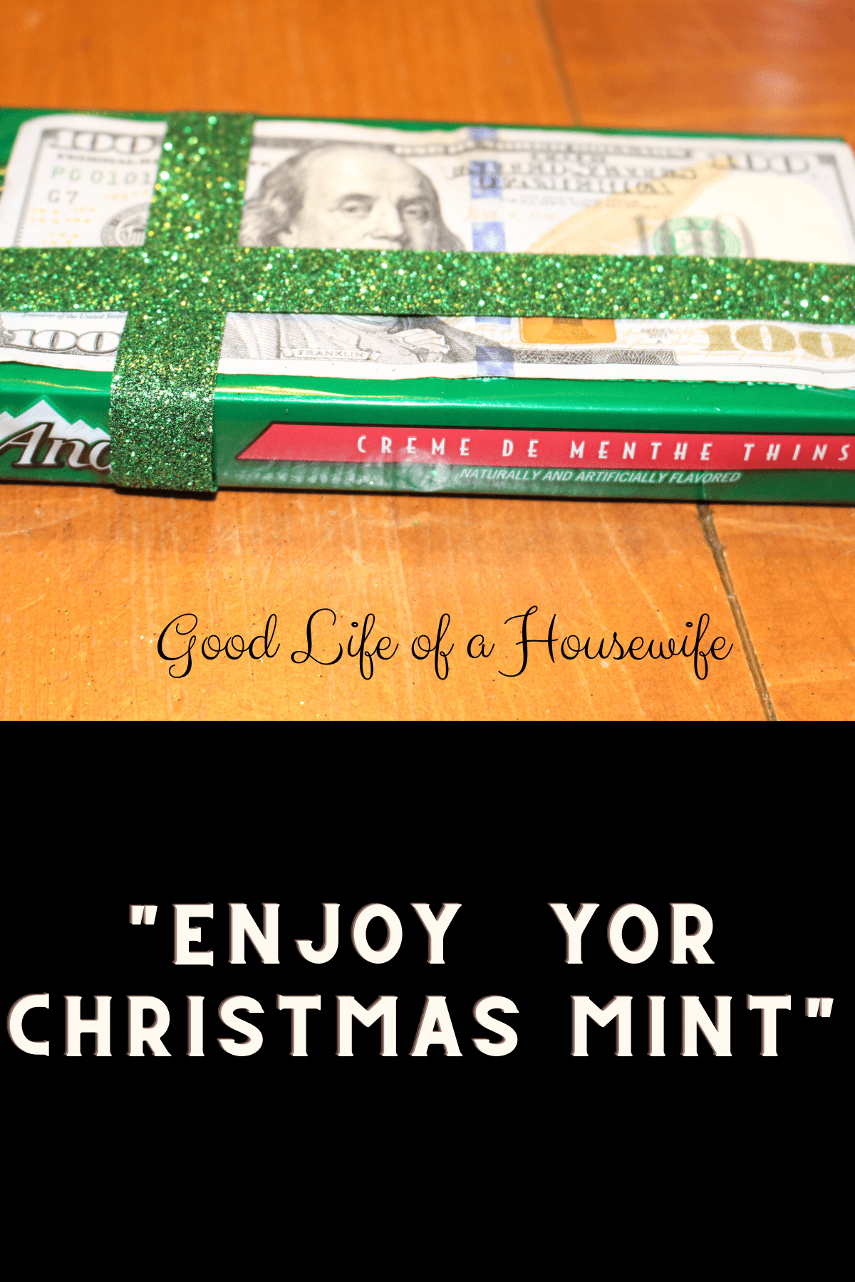 Cash Christmas Gift Idea for Kids - Good Life of a Housewife
