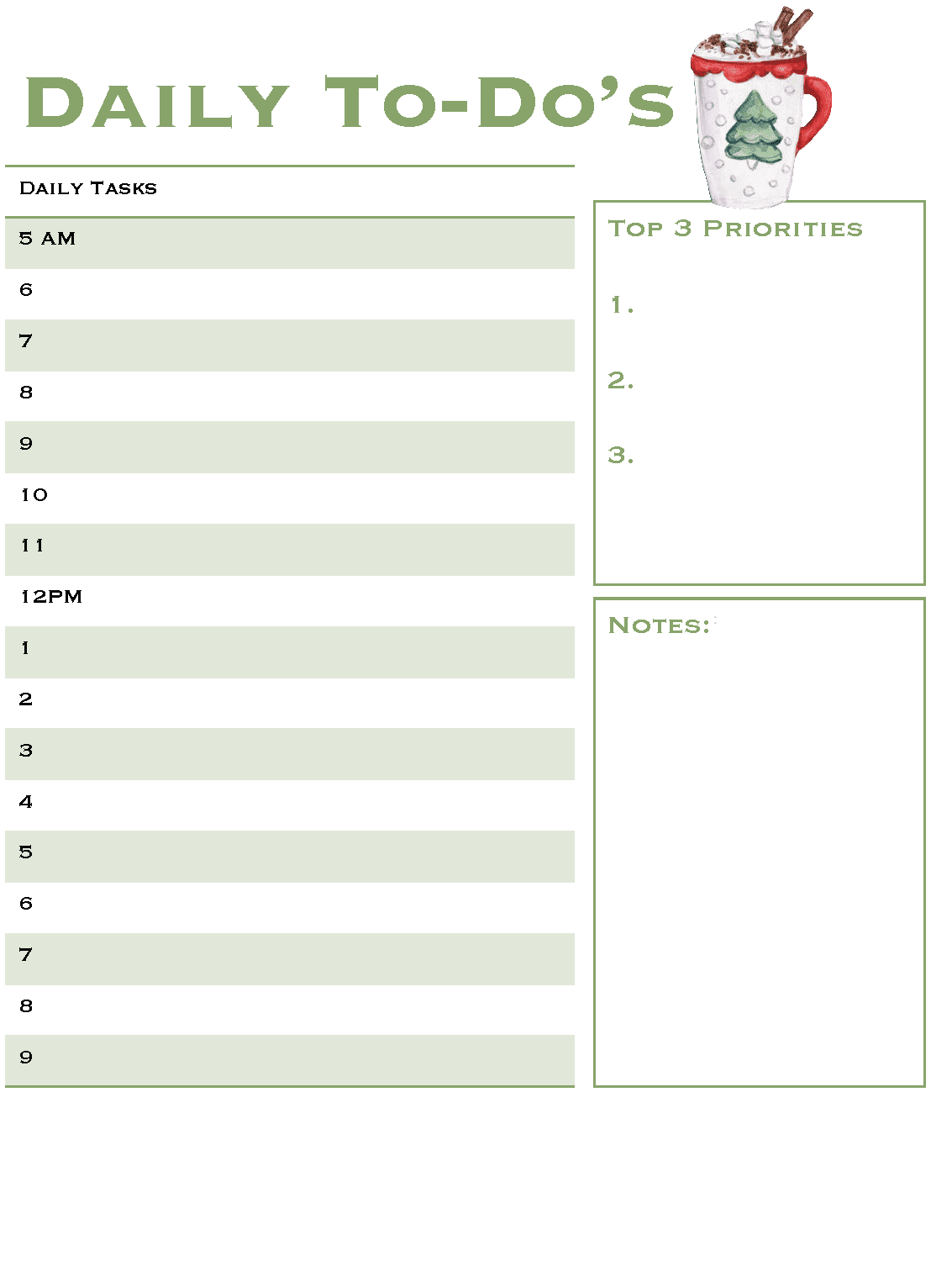 Christmas Planner - Free 2021 Holiday Planner