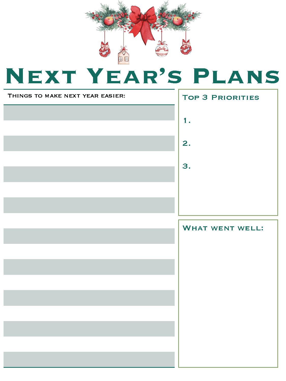 Christmas Planner - Free Printable