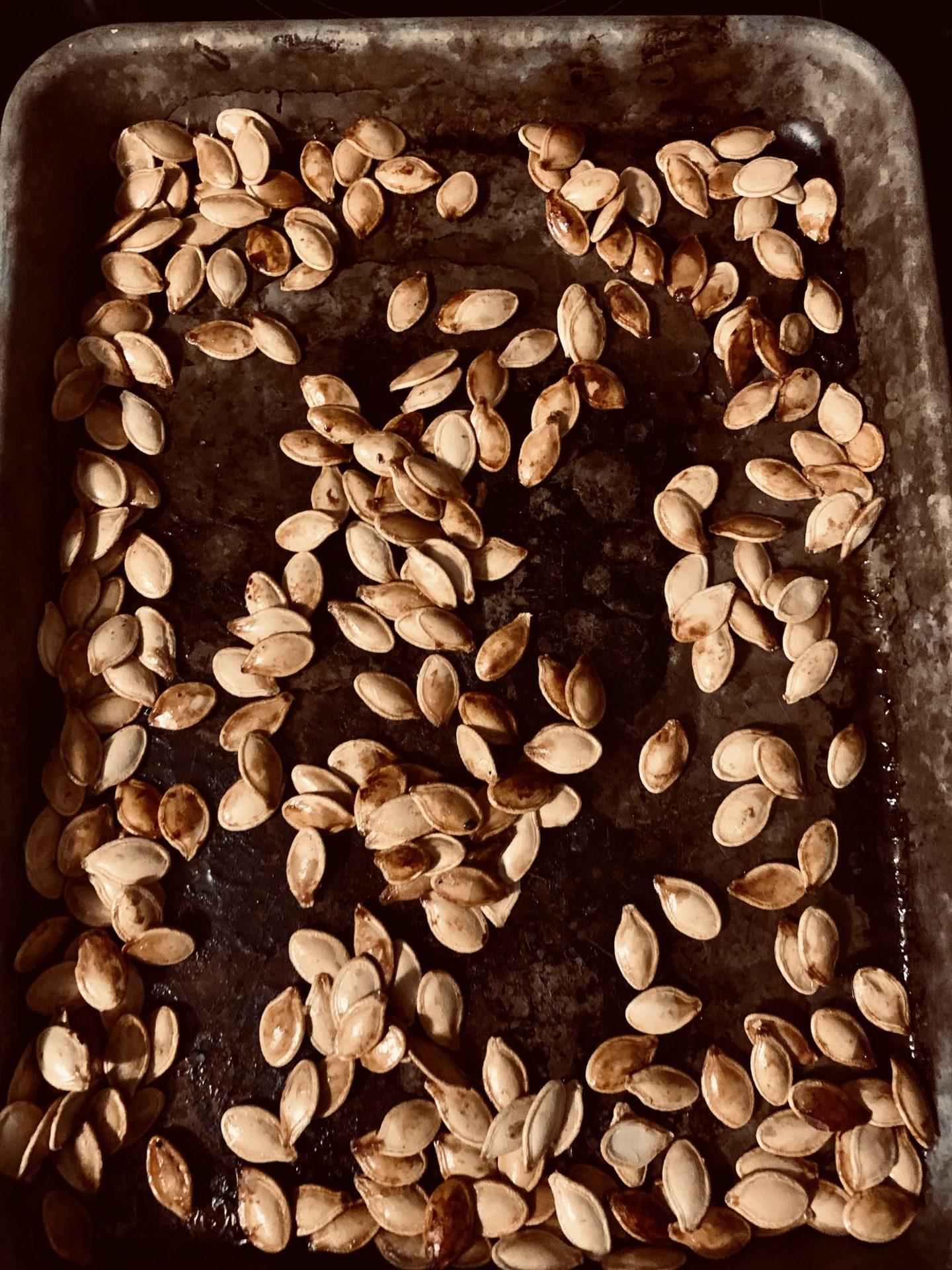 Sweet Sugary Pumpkin Seeds – Best eaten warm